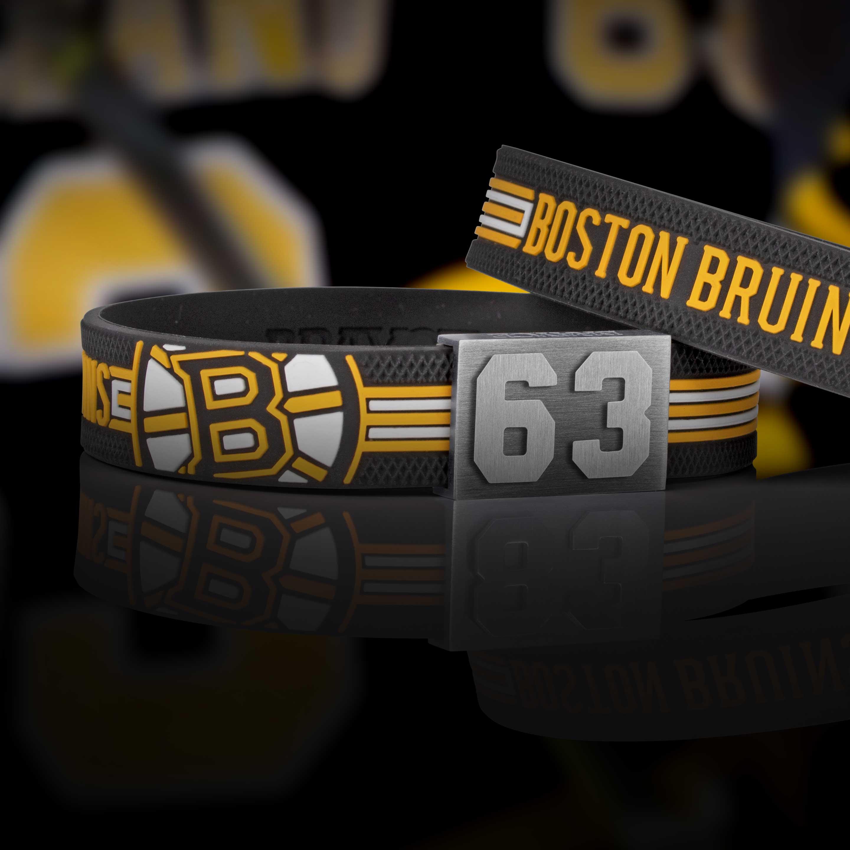 Boston Bruins bracelet atmo shot
