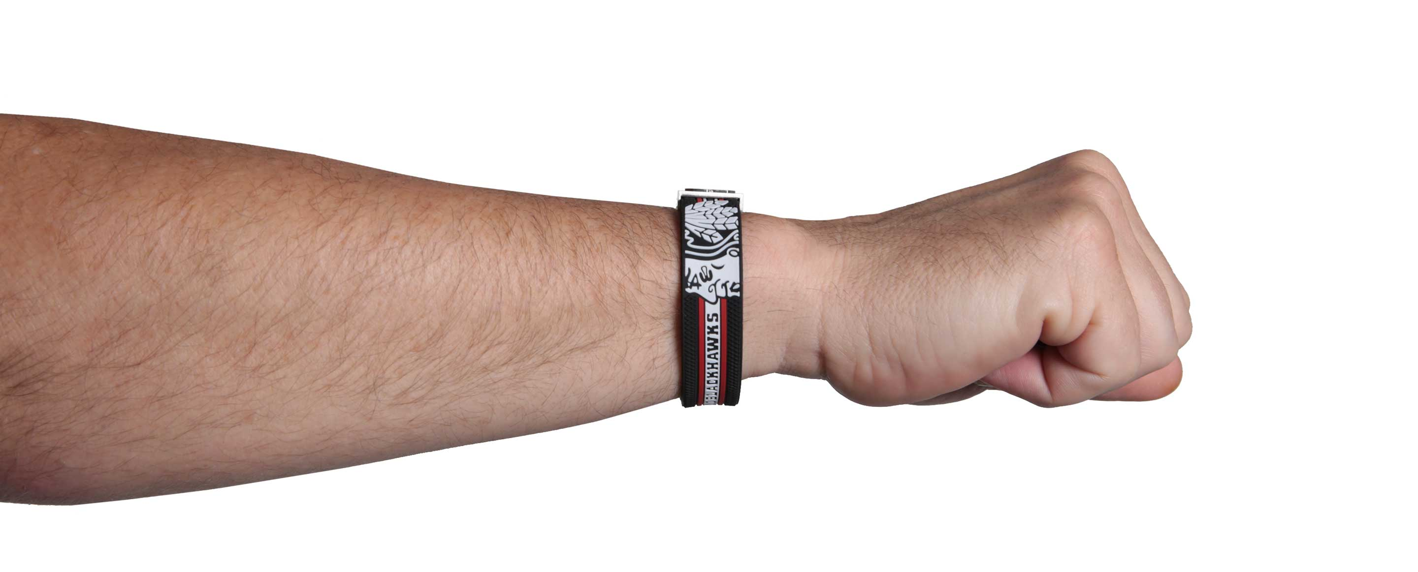Chicago Blackhawks bracelet fist