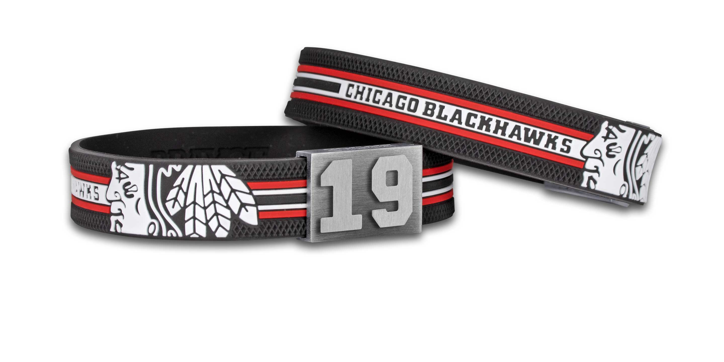 Chicago Blackhawks bracelet number 19