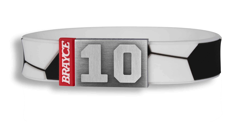 football bracelet player numer 12